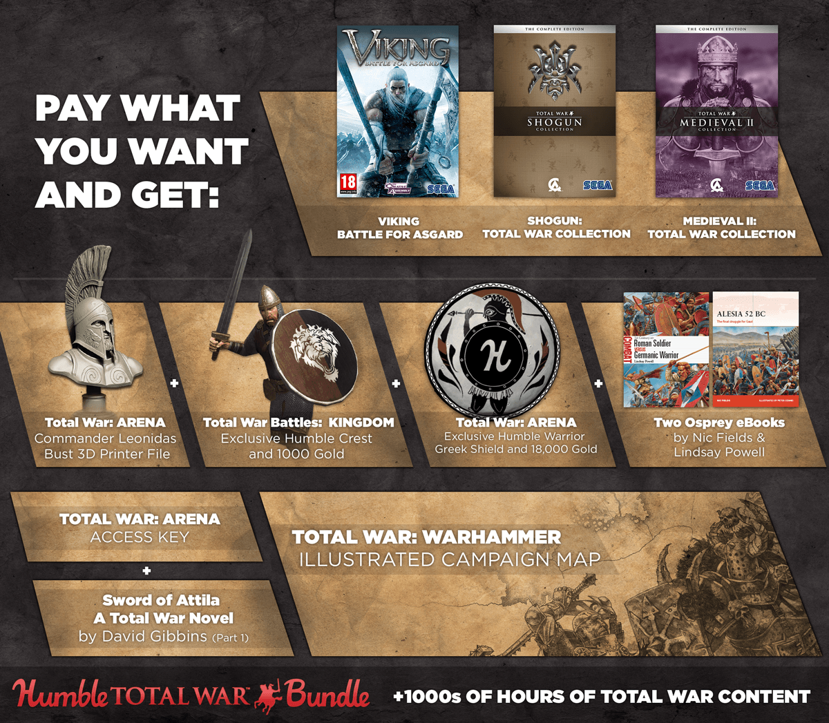 New Total War Humble Bundle Offering Massive Exclusives and Huge Savings news header
