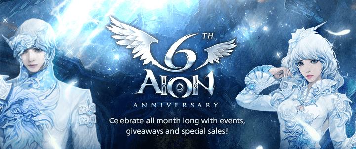 Aion Celebrates its 6th Anniversary news header