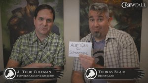 Crowfall - ACE Q&A for September video thumbnail
