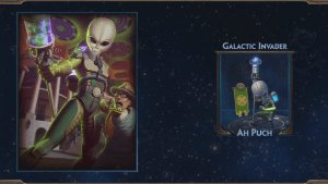 SMITE: Galactic Invader Ah Puch Skin Preview video thumbnail