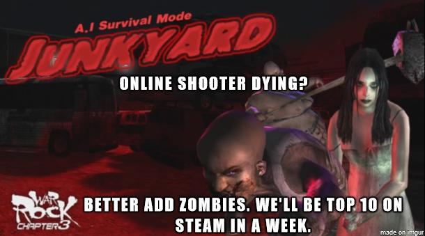 WarRock Zombie Res Meme