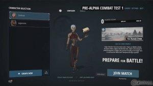 Crowfall (Pre-Alpha) Character creation video thumbnail
