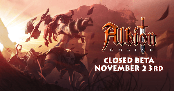Albion Online Closed Beta Scheduled in November news header
