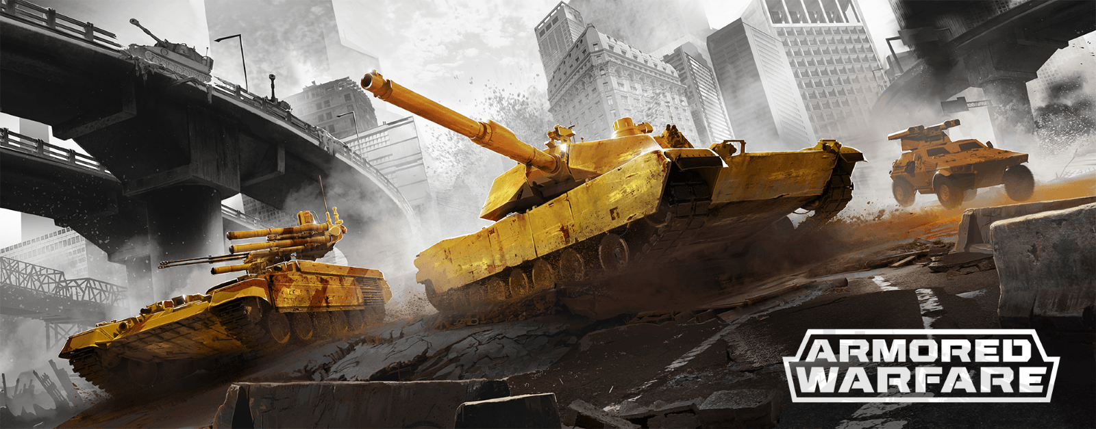 Armored Warfare now in Worldwide Open Beta news header