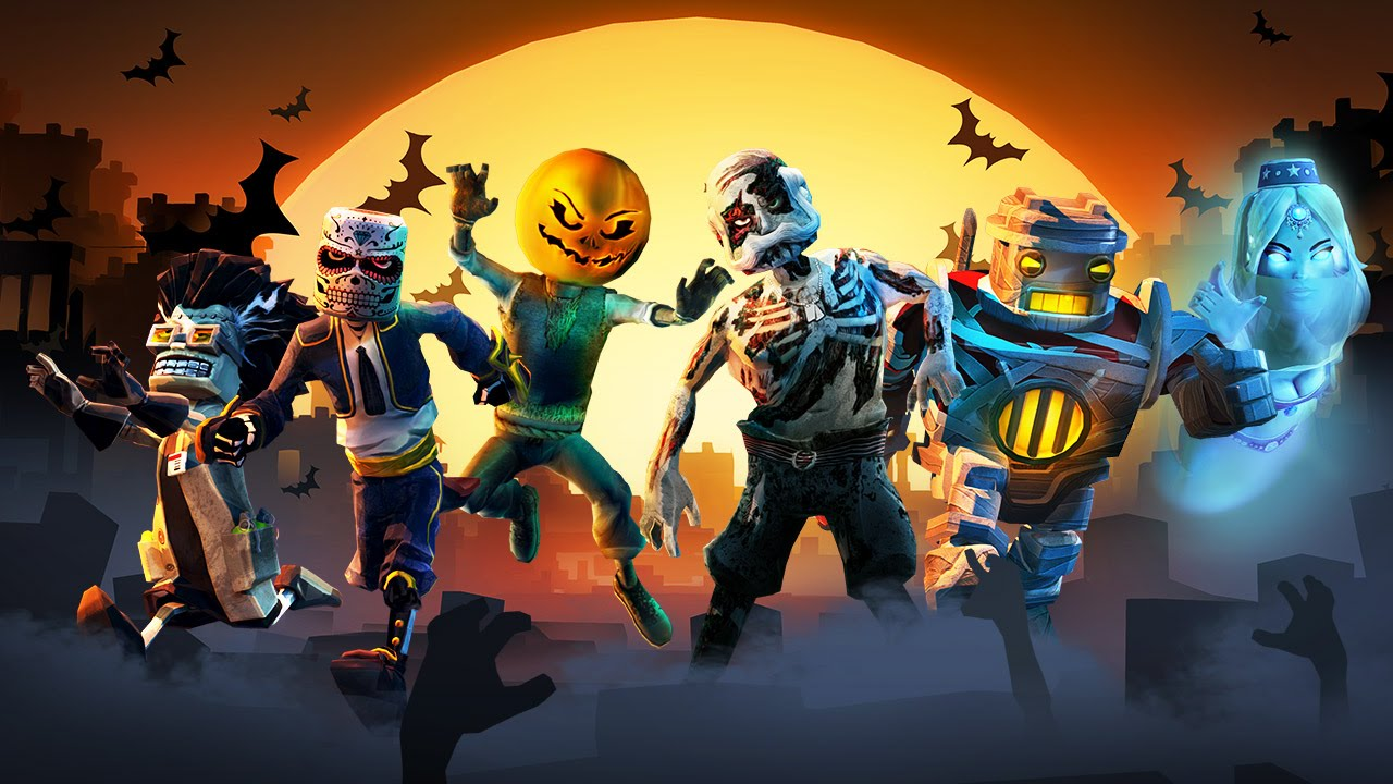 Block N Load Scary Monsters Skin Pack video thumbnail