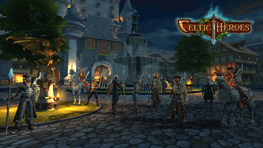 celtic heroes unleashes halloween update and new expansion mmohuts