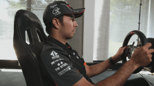 F1 2015 - Sergio Perez Mexico Hot Lap video thumbnail