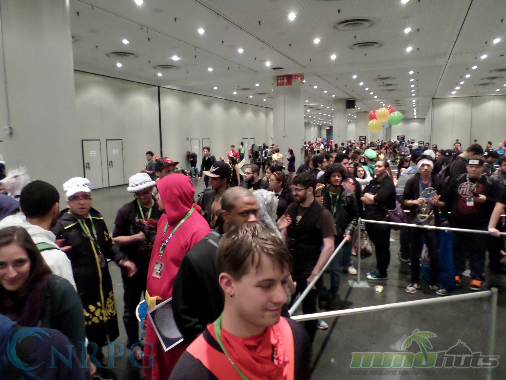 NYCC 2015 Day 3 Warframe Line