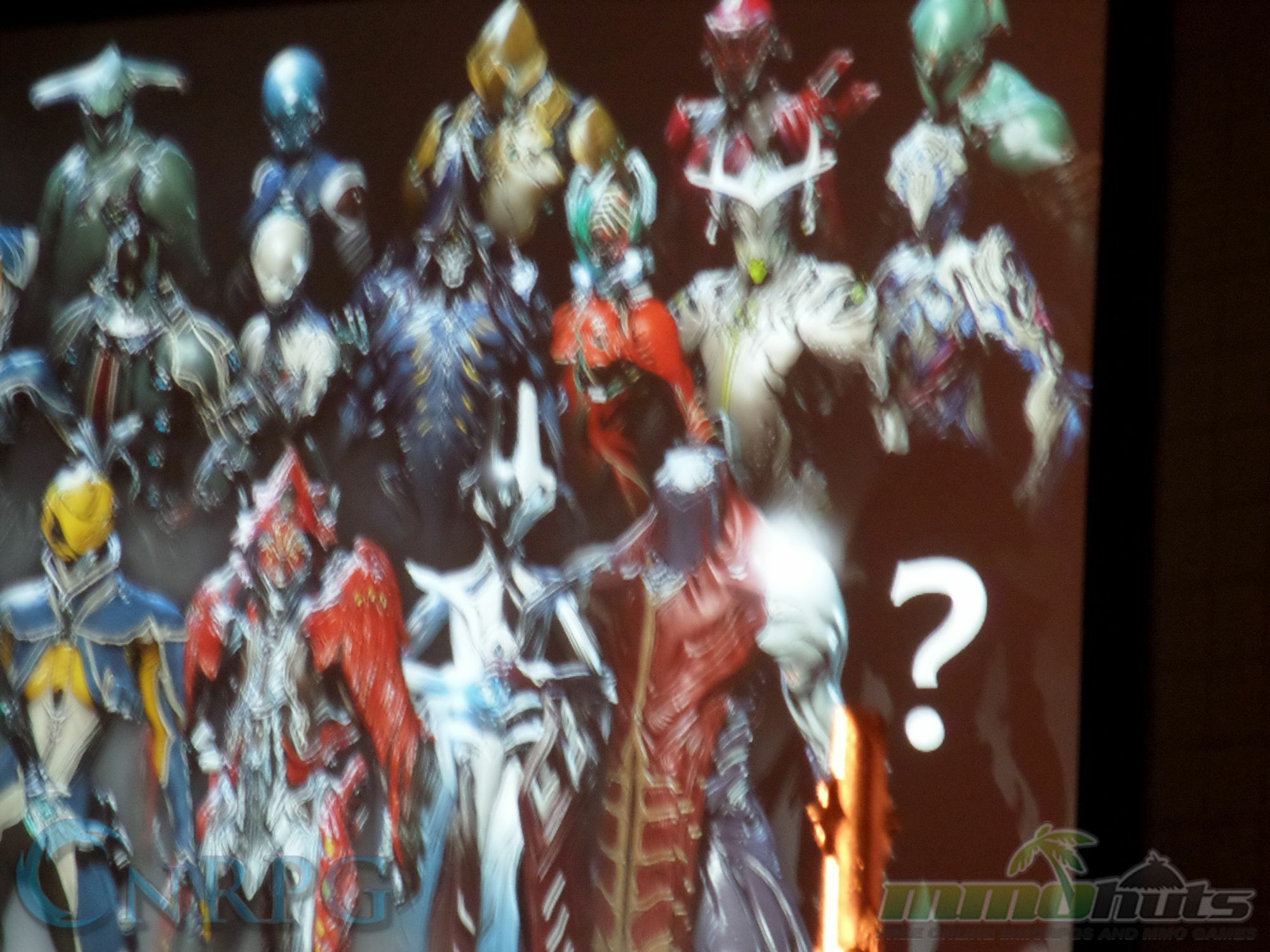 NYCC 2015 Day 3 Warframe Reveal