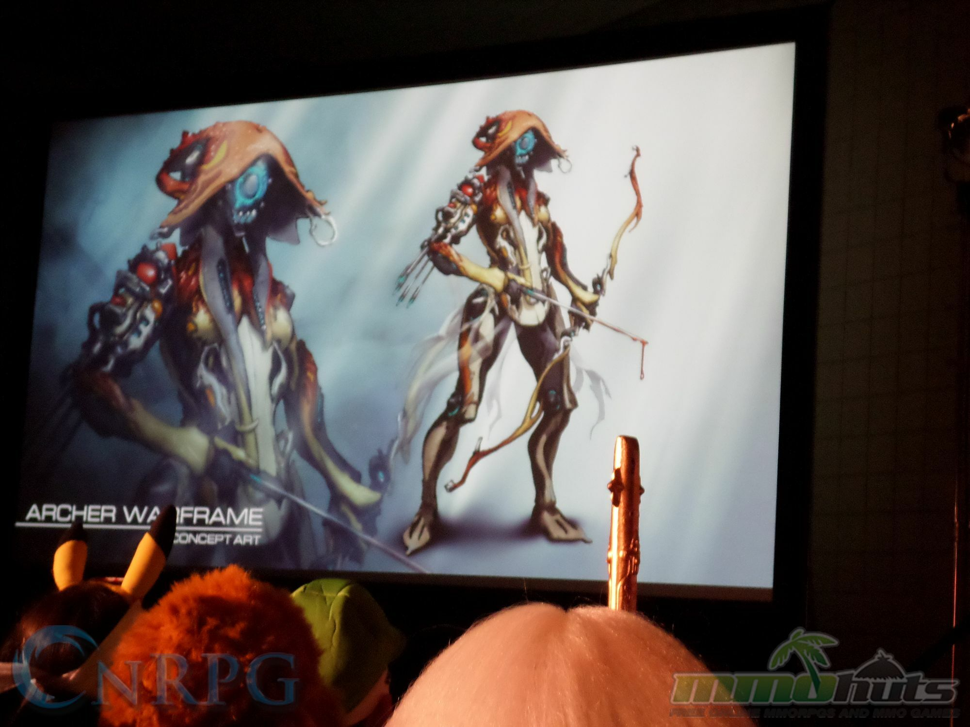 NYCC 2015 Day 3 Warframe Archer