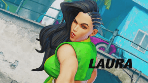 Street Fighter V Laura Reveal video thumbnail
