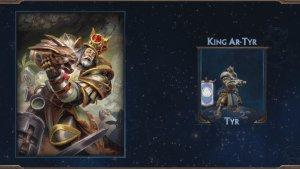 SMITE: King Ar-Tyr Tyr Skin Preview video thumbnail