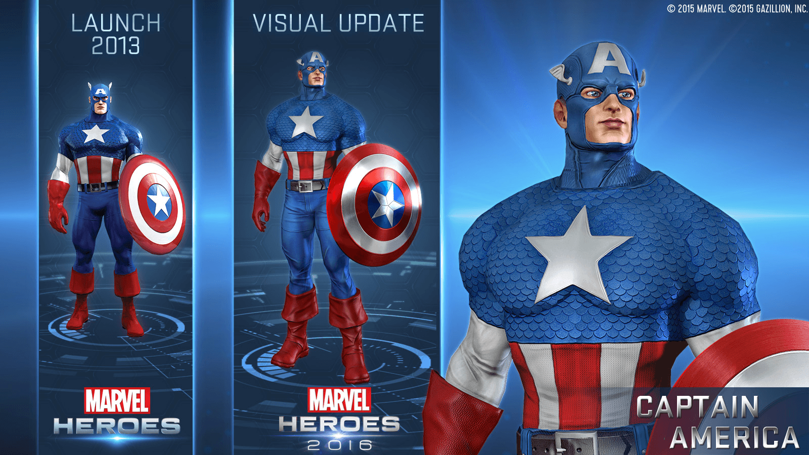 Gazillion Reveals What's in Store for Marvel Heroes 2016 news header