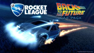 Rocket League Back to the Future Car Pack Teaser video thumbnail