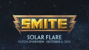 SMITE Patch Overview - Solar Flare (October 6, 2015) video thumbnail