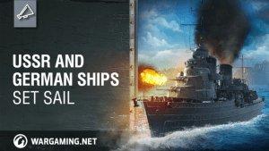 World of Warships: USSR and German Ships Set Sail video thumbnail