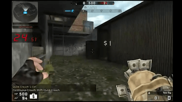 BlackShot Global Running Man Game Play Mode video thumbnail