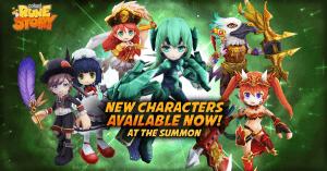 Colopl Rune Story: Six New Characters video thumbnail