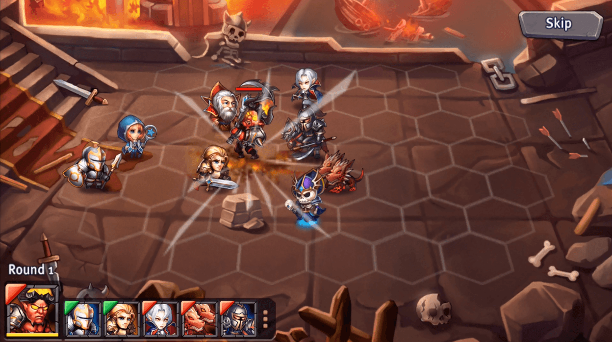 Heroes Tactics: Mythiventures Announces iOS Release Date news header