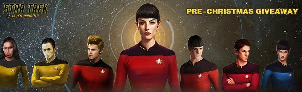 Star Trek Alien Domain Christmas Key Giveaway