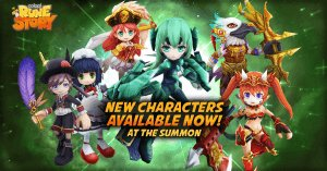 Colopl Rune Story: Six New Characters video thumbnail