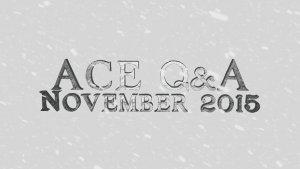 Crowfall ACE Q&A for November 2015 video thumbnail