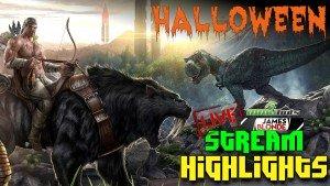 Ark: Fear Evolved Halloween Live Stream Highlights