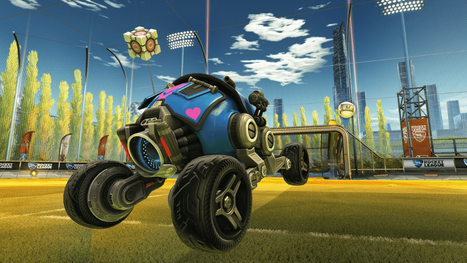 Rocket League Crosses Over With Portal news header