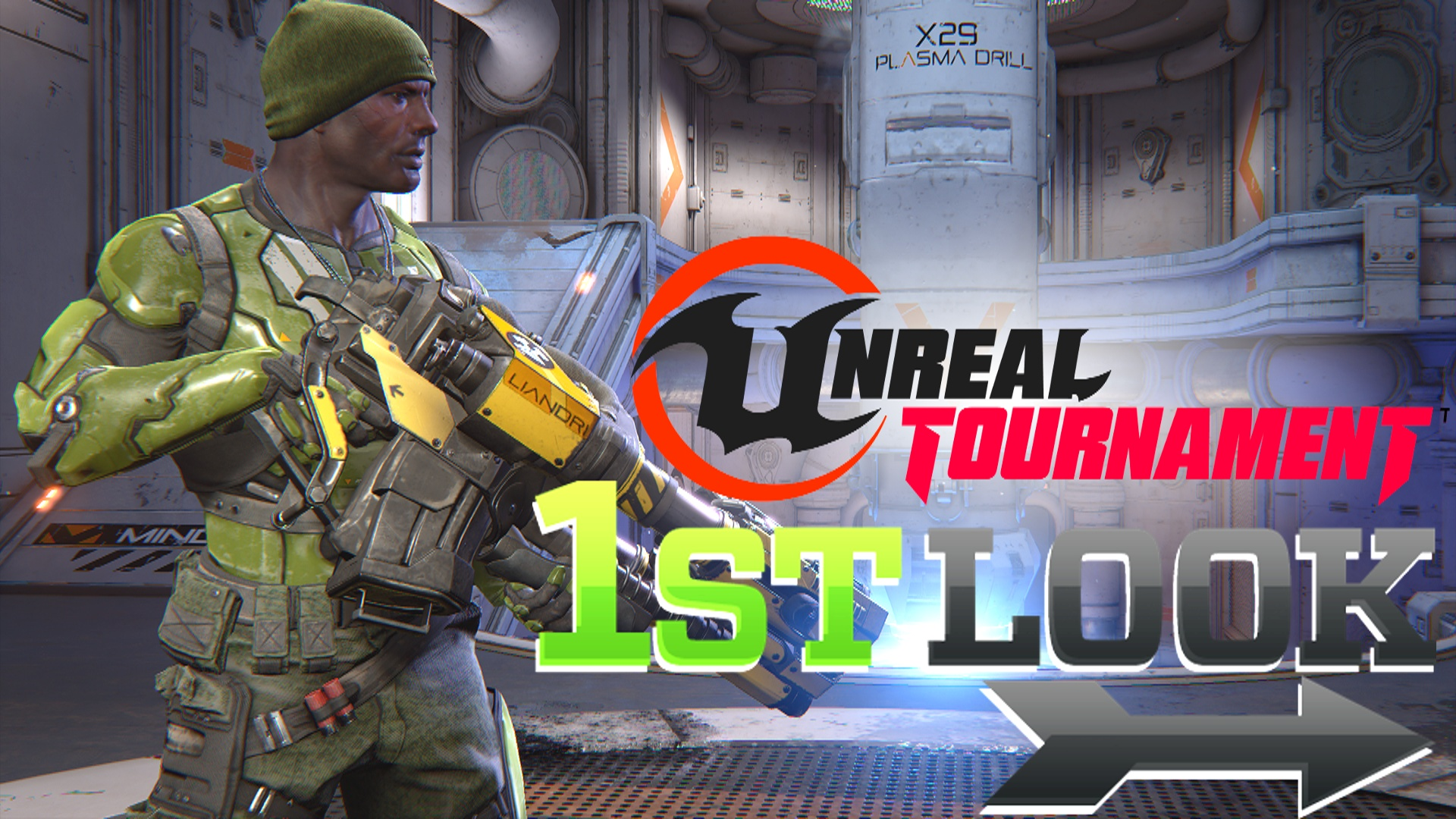 Unreal Tournament 2015 - First Look (Pre-Alpha)
