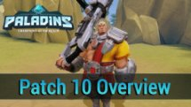 Paladins Closed Beta Patch 10 Overview video thumbnail