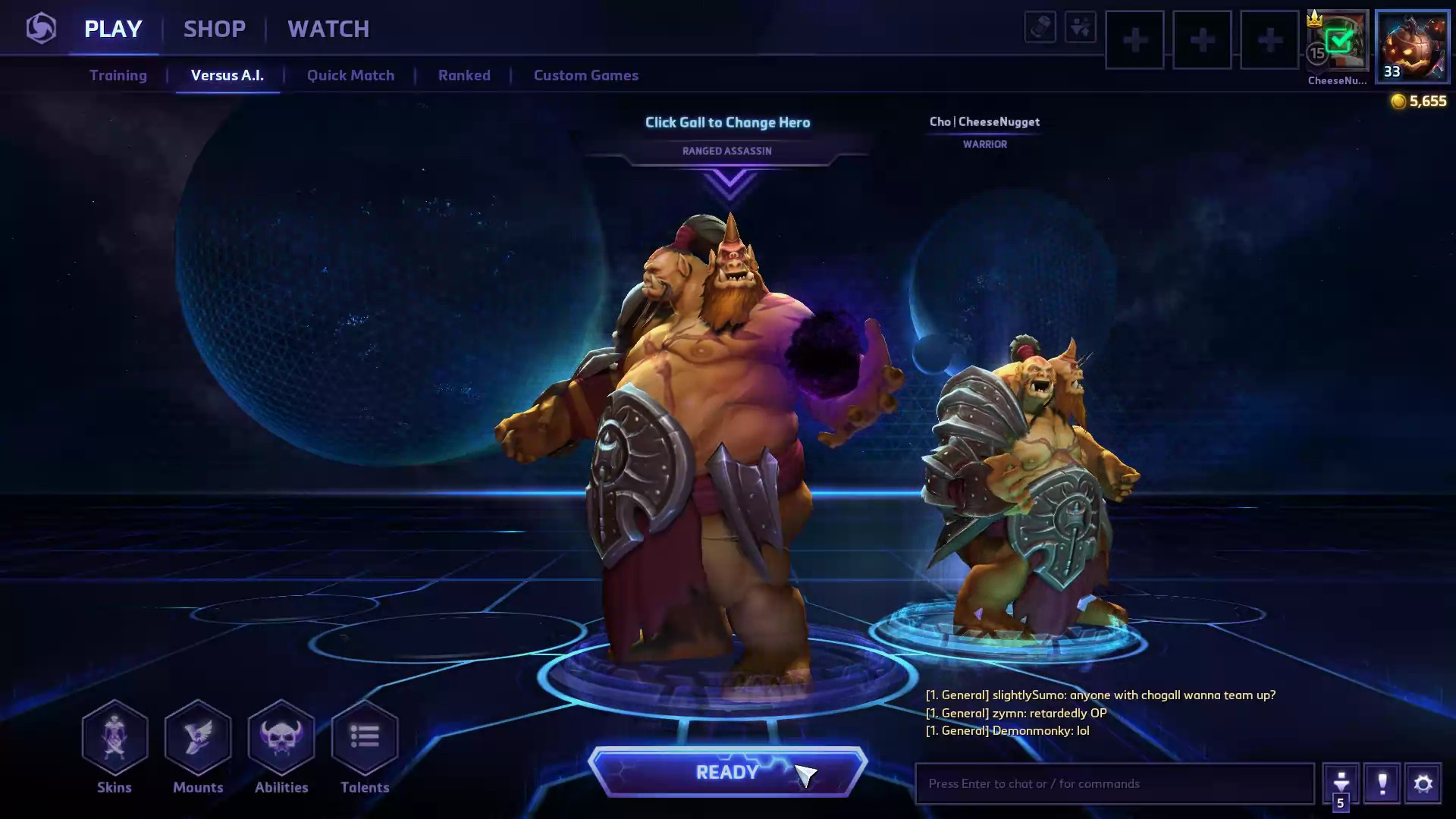 Build Gall Heroes Of The Storm