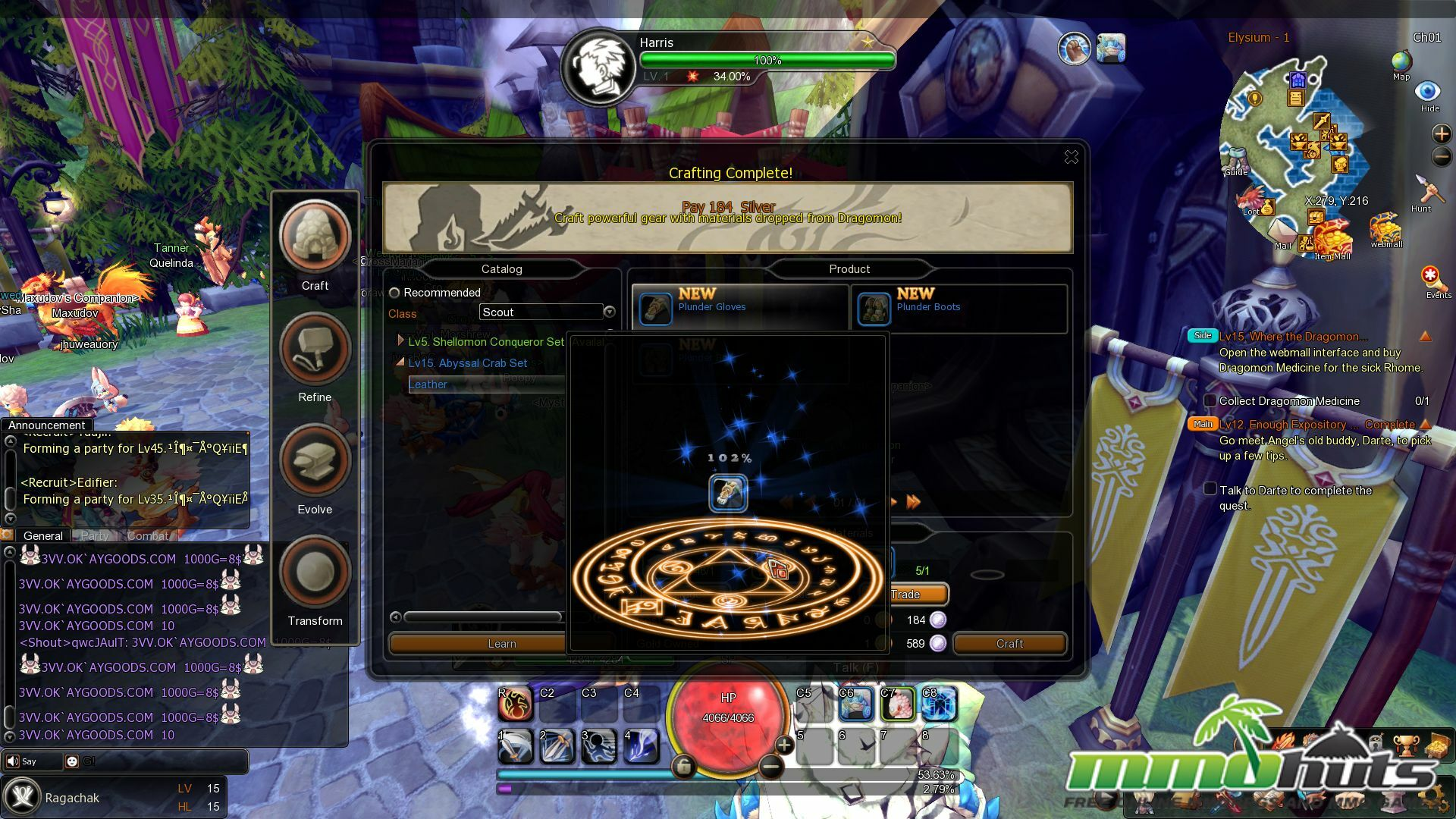 Dragomon Hunter Review