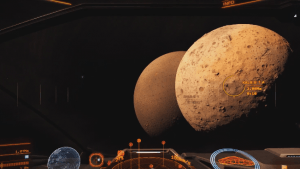 Elite Dangerous: Horizons Planetary Landing Gameplay video thumbnail