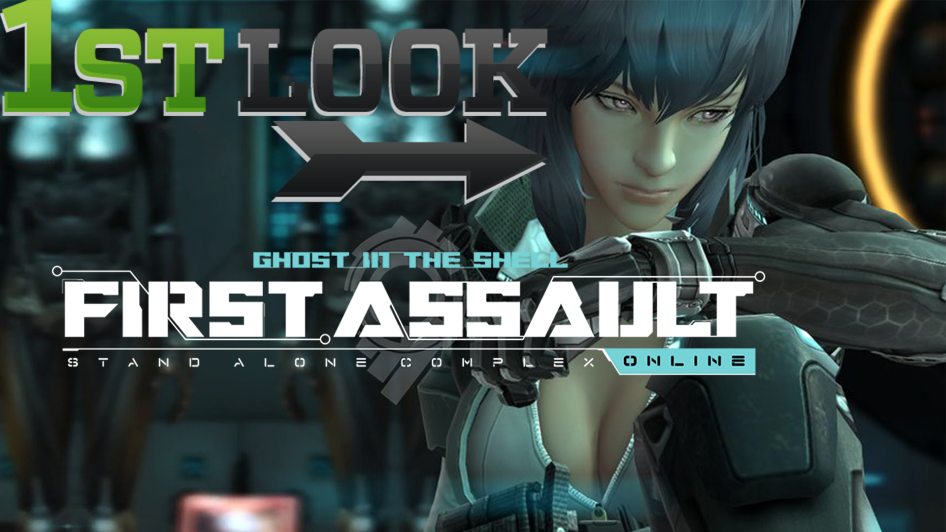 Ghost in the Shell: First Assault - First Look