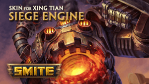 Smite Siege Engine Xing Tian Skin Preview video thumbnail