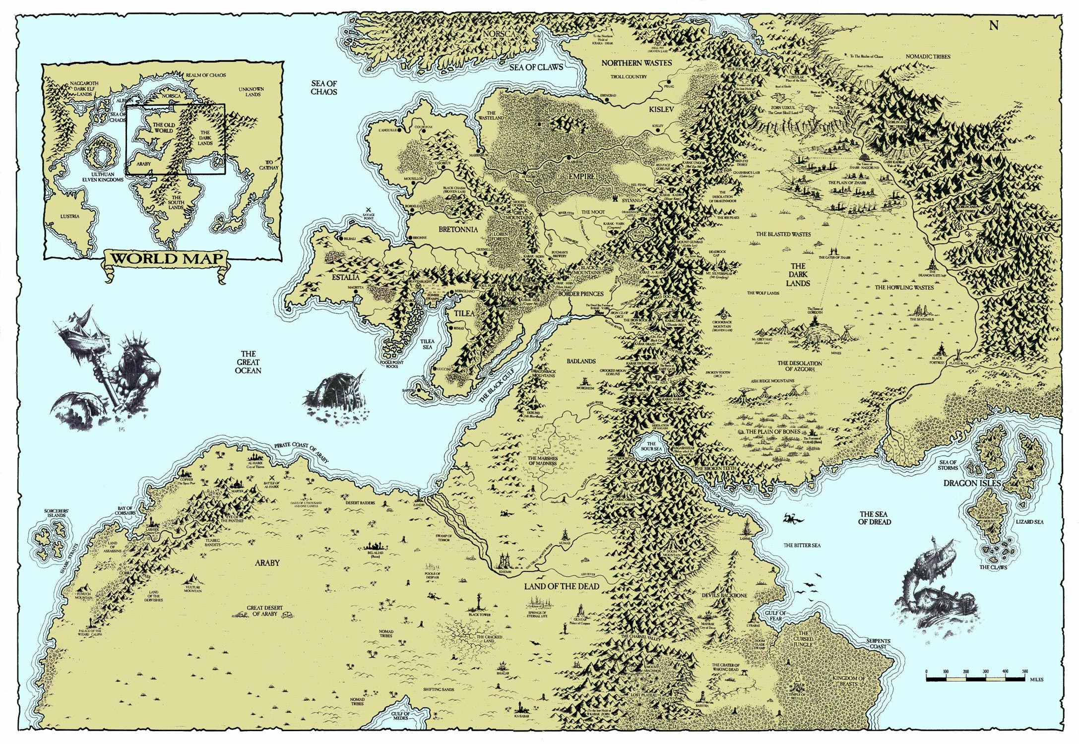 Total War Warhammer Map Edit