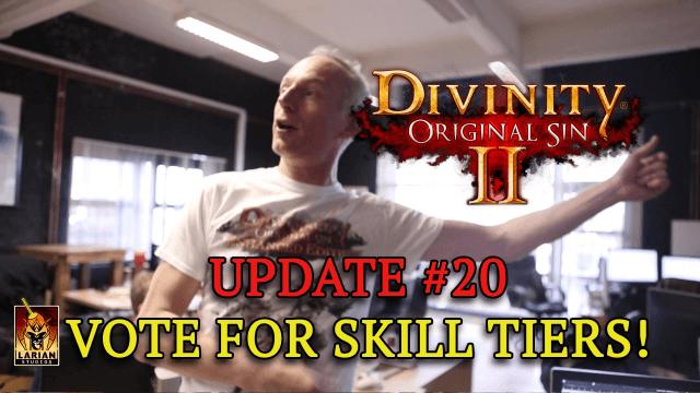 Divinity: Original Sin 2 Kickstarter Update - Skill Tier Voting video thumbnail