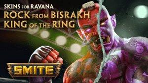 Smite King of the Ring & Rock from Bisrakh Ravana Skins video thumbnail