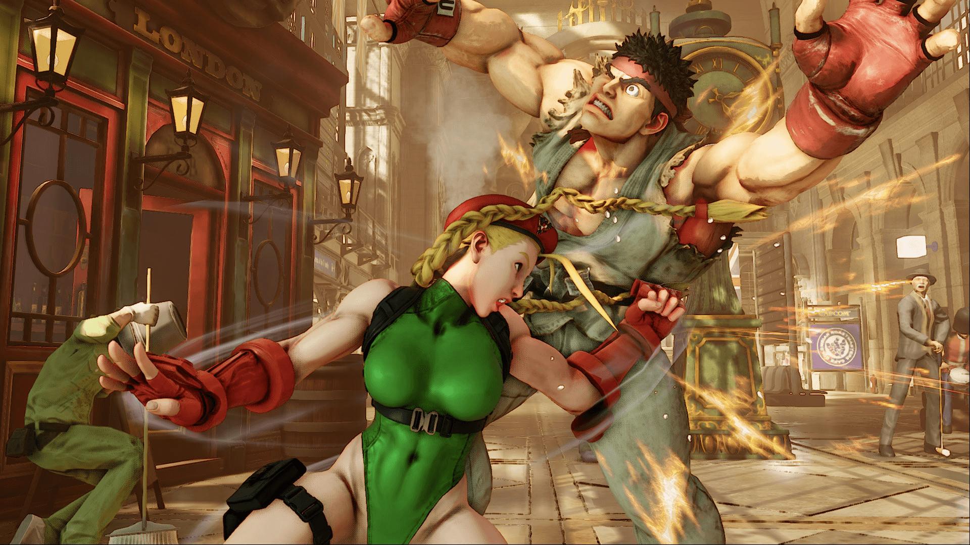 Street Fighter V Preview header