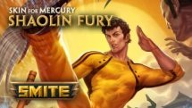 Smite Shaolin Fury Mercury Skin video thumbnail