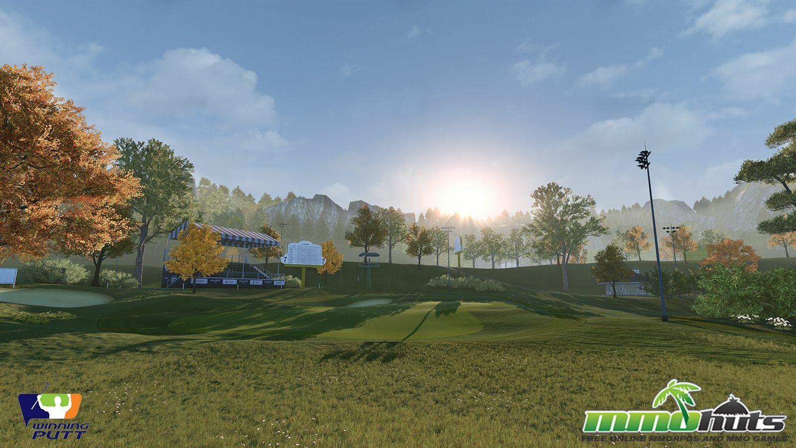 Winning Putt Preview Screenshot 16 Golf Course Day