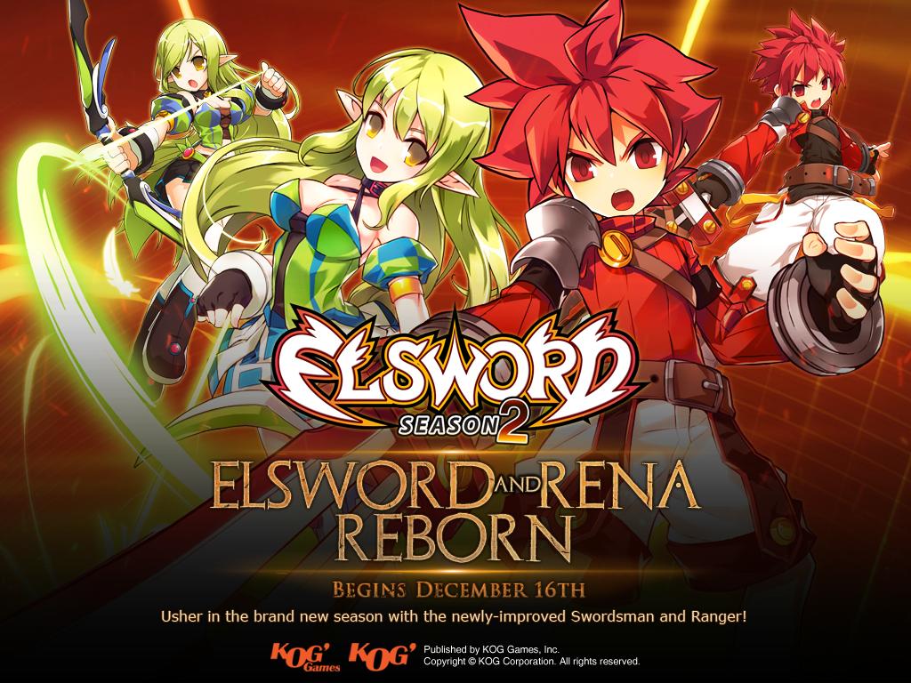 Elsword: Season 2 Community Q&A Elsword & Rena