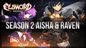 Elsword Season 2 Aisha and Raven Revamp video thumbnail