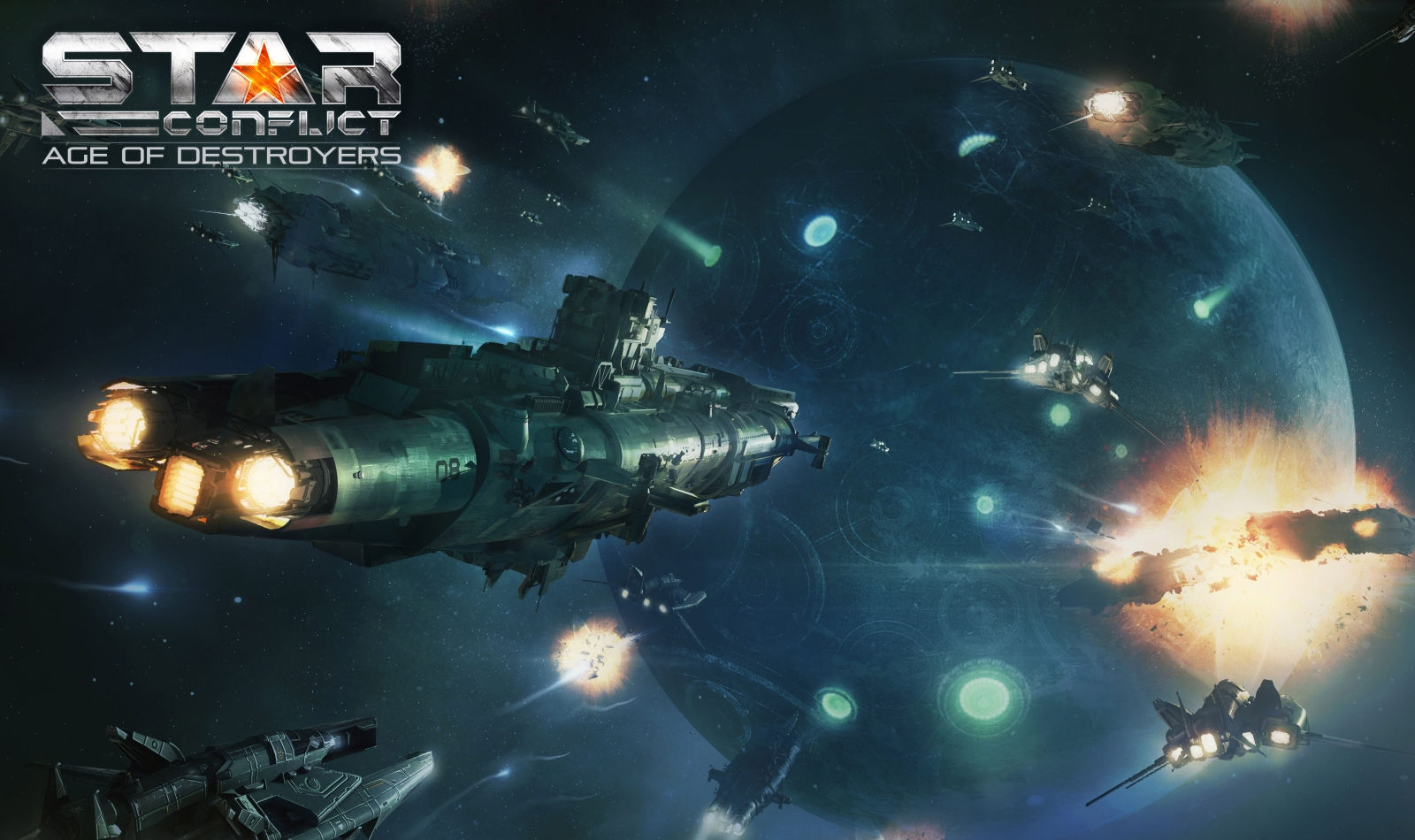 Star Conflict Launches Age of Destroyers Update news header