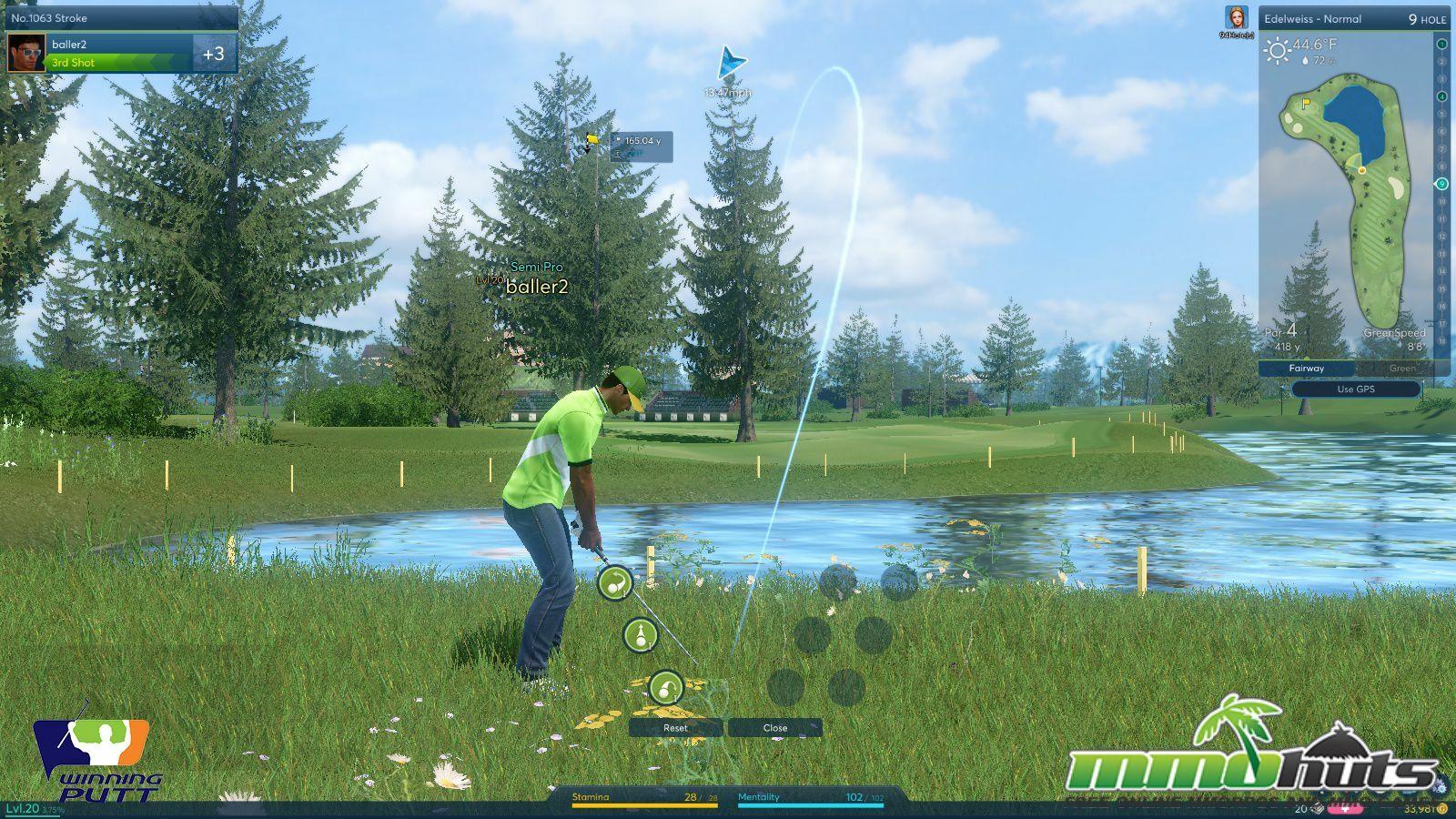 Winning Putt Preview Screenshot 10 Gameplay Guy Beautiful Course