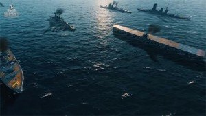 World Of Warships Team Battles