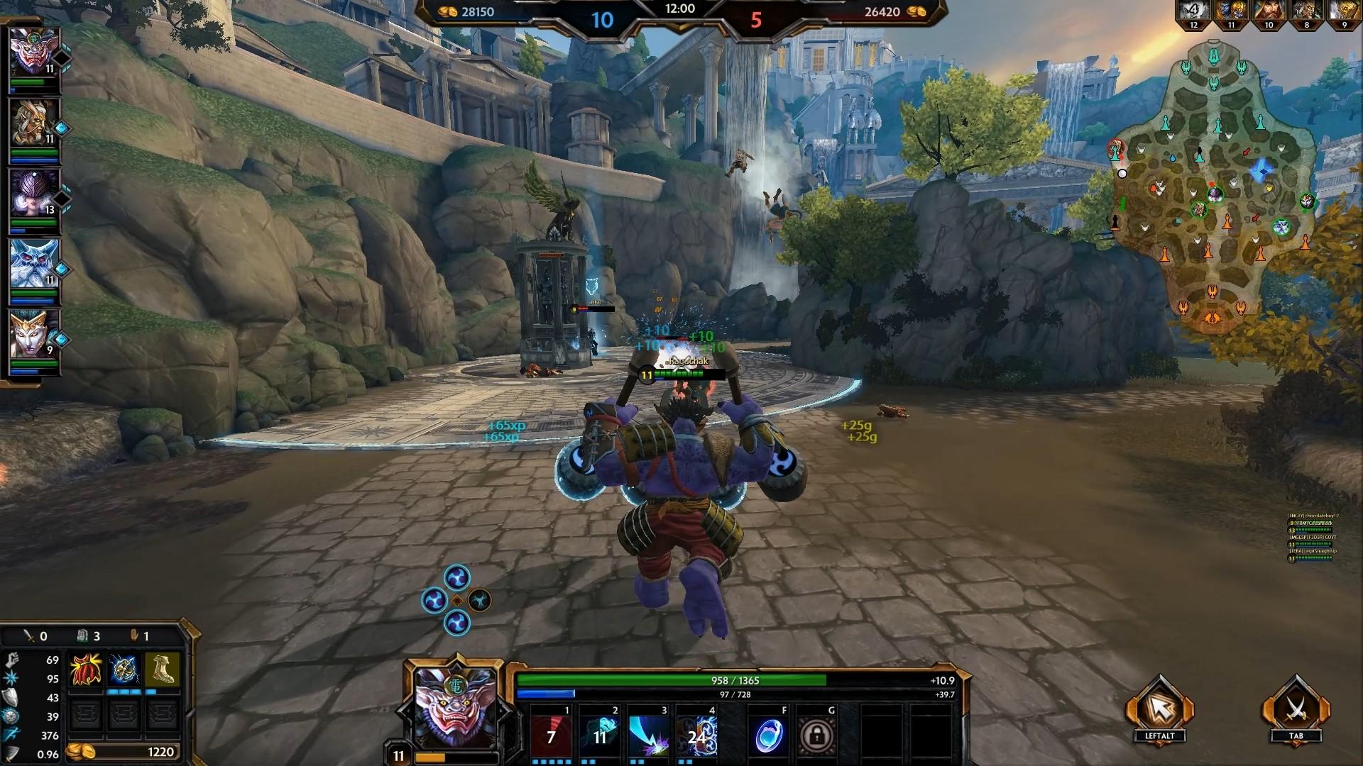 SMITE God Review: Raijin The God of Thunder