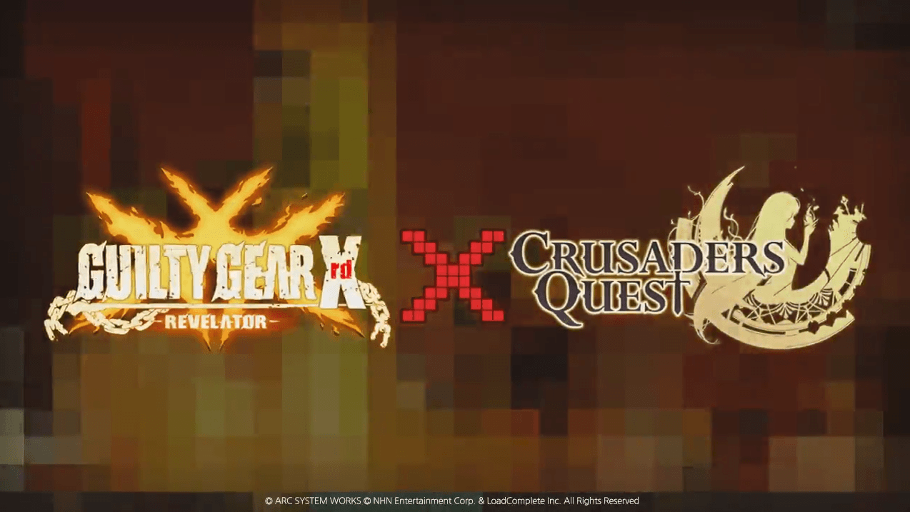 Crusaders Quest Guilty Gear Crossover Trailer thumbnail