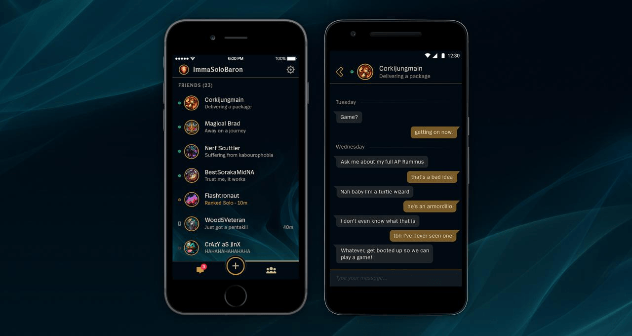 League Friends Mobile App Launches header