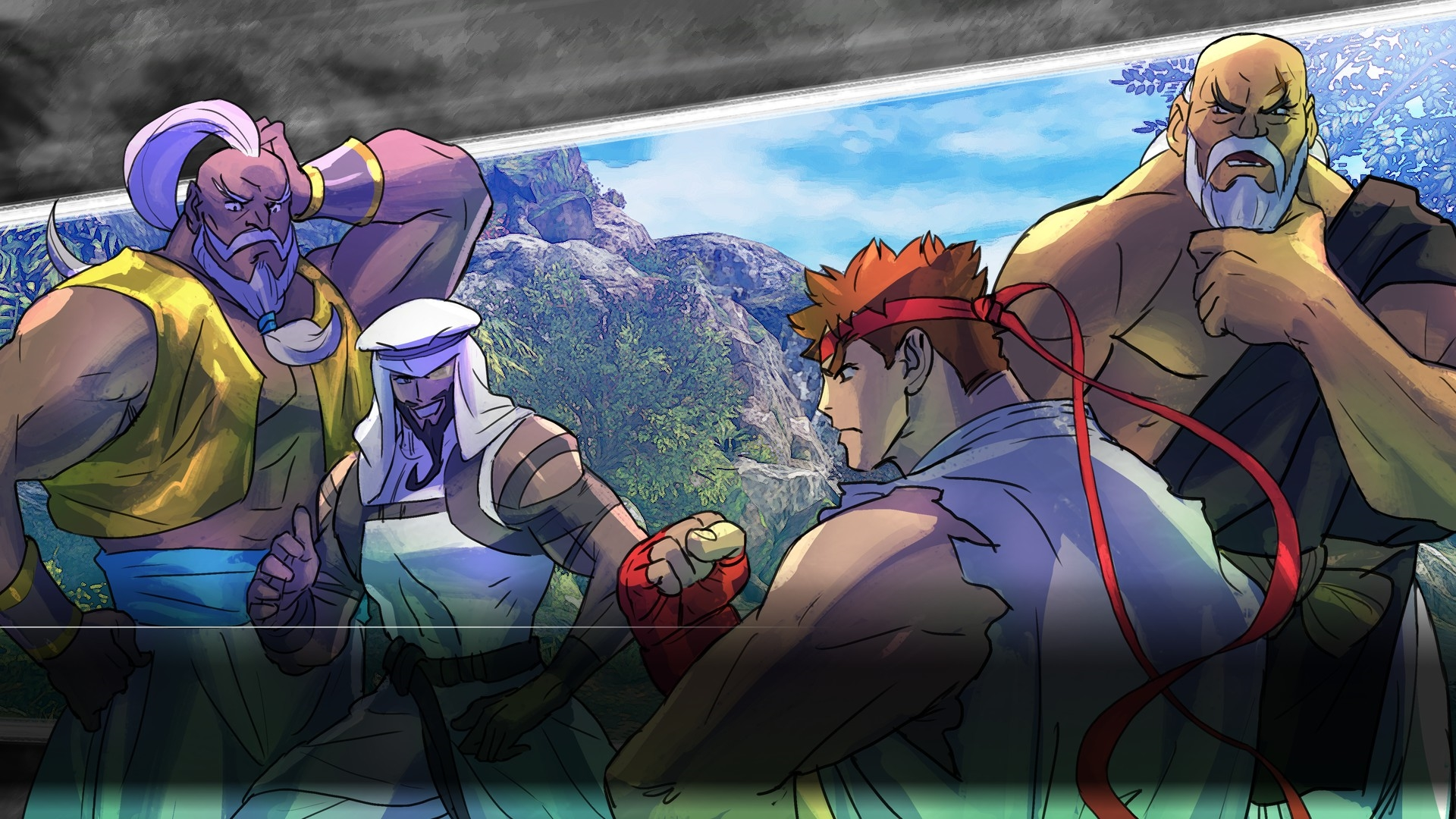 Street Fighter V Launch Review header